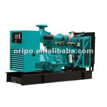 list of electrical equipment 225kva/180kw diesel fuel less generator set powered by 6CTAA8.3-G2 Cummins