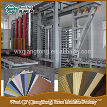 high pressure laminate press line/ HPL panel pressing machinery