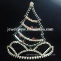 fashion metal full crystal christmas tree headband