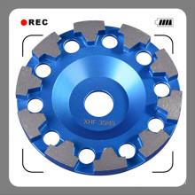 180mm Concrete Diamond Grinding Wheel / 7 Inch Diamond Cup Wheel