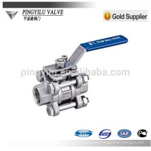 Stainless steel ball valves in nitric acid DN6-DN80 JLQ11F-16P