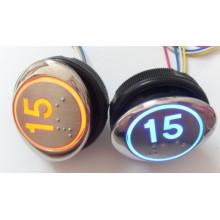 Otis Push Button Pb-8