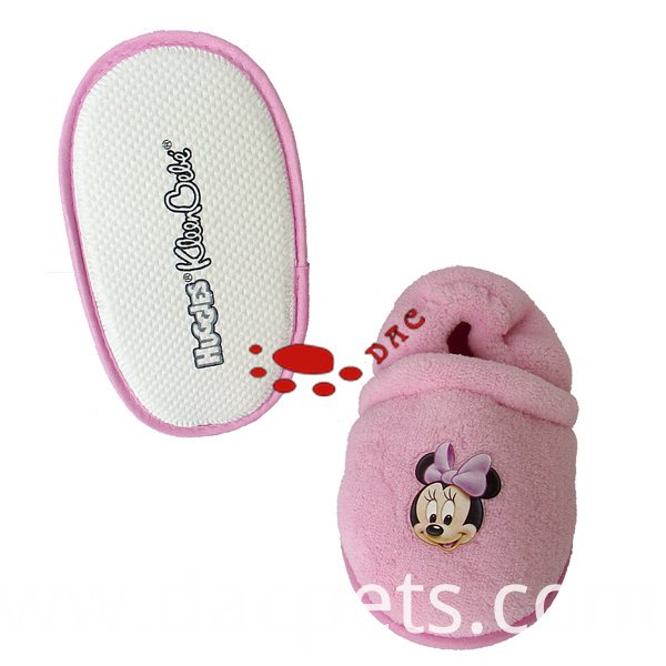 Minnie baby slipper