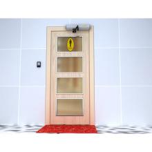 Sistema de control de acceso a puerta giratoria automática