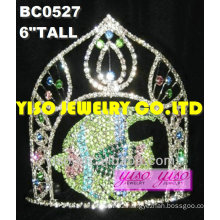 fish crystal pageant tiaras