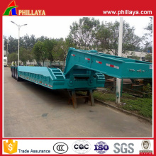 Detachable Gooseneck Lowboy Semi Trailer Truck