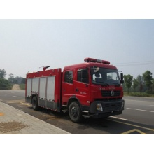 Dongfeng 6Ton used brush fire trucks for sale