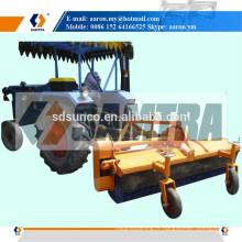 Machine de balayage de route de balayeuse de route conduite par tracteur