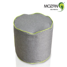 Canapé durable tissu cylindre sac de haricots ottoman