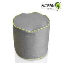 Прочный диван ткани цилиндра фасоль мешок оттоманка