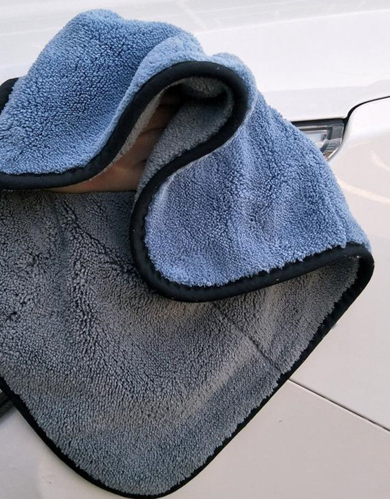 Custom Printed Microfiber Car Warp Knitting Towels