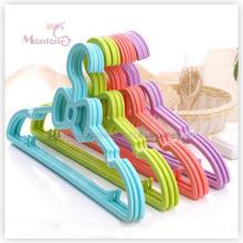 PP plástico adorável bowknot crianças cabide conjunto de 5