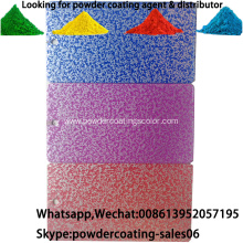 Electrostatic Spray Hammer Vein texture powder coating