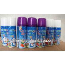 aerosol de nieve en aerosol