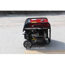 Conjunto de gerador de gasolina a pequeno porte fechado com lista de preços
