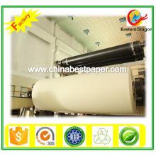 Белый большой рулон бумаги (55-90г)