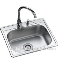 DS 5343 New model ceramic undermount composite bathroom sinks to wash the feet