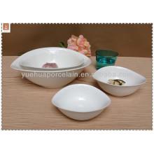 Cuenco de porcelana de producto de necesidad diaria con diferentes tamaños
