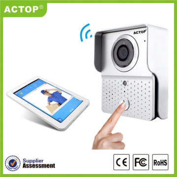 720P IP65 Air-bukti WIFI video doorphone interkom