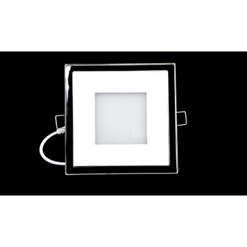 Aluminum Square LED Panel Light PMMA Panel 15w