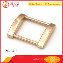 Handbags accessories zinc alloy gold color square buckles