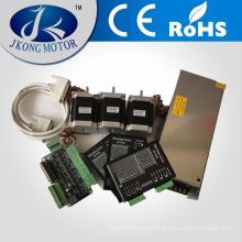 Perfect Match Schrittmotor Kits / Schrittmotor Kits einschließlich Schrittmotor, Treiber, Netzteil und Key Board