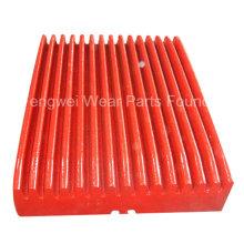 Высококачественная марганцевая плита для щековой дробилки для Extec C12 C10