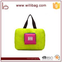 Novos produtos de nylon Material Duffel Bag Tipo Dobrável Travel Bag
