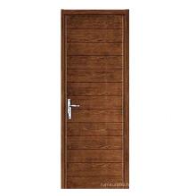 Hot Sale Porte en bois massif de haute qualité avec design de mode (SW-873)