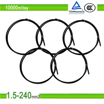 Solarkabel 4/6 / 10mm2 mit PVC-Mantel Kupferleiter Kabel