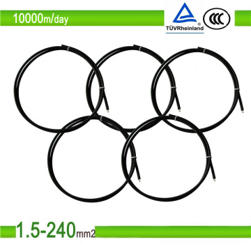 Solar Cable 4/6/10mm2 with PVC Jacket Copper Conductor Cable