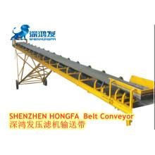 Shenzhen Hongfa Belt Conveyor of filter press used for filter cake transport