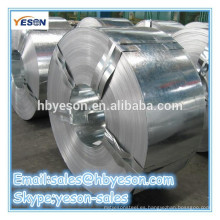 Banda de acero galvanizado en caliente