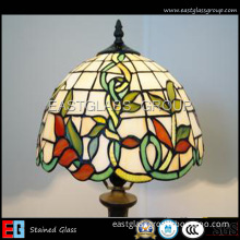 Church Glassdesk Lamp Egst020 (Color glass) Stained Glass