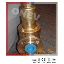 "Sea Water Brass Pressure Safety Valve (150lb-3"")"