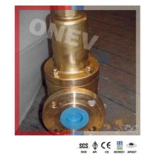 """Válvula de alívio de segurança com flange de latão para água do mar (3 """"-150 lb)"""