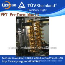 16cavity PET bottle preform mould hot-runner shut-off nuzzle