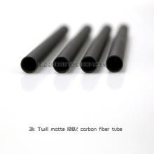 Molde que presiona los tubos de la fibra de carbono, auges completos de la fibra de Carbob