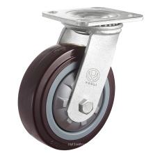 Roulette PVC robuste (rouge) (Y4601)
