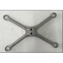 El aluminio del OEM ADC12 a presión los soportes de los bastidores para el uso electrónico de la escala