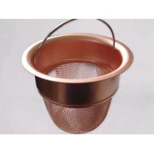Tissu de maille en laiton pour filtrer le liquide et le gaz