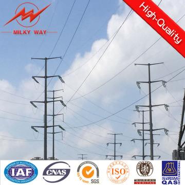 Стальной распределения полюс для 69kv линии электропередачи