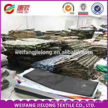 Tissu de camouflage stock pour vente chaude t / c 65/35 camouflage tissu camouflage imprimé tissu