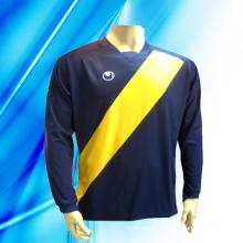 100% Polyester Man′s Long Sleeve Soccer Jersey