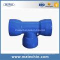 Encaixe de tubulação dútile personalizado OEM do ferro fundido da fundição de China