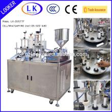 Ultrasonic Cosmetic Cream Tube Filling Sealing Machine