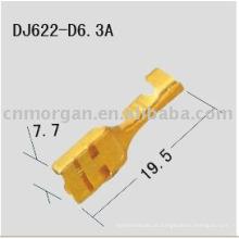 Terminais de compressão de cabos DJ622-D6.3A