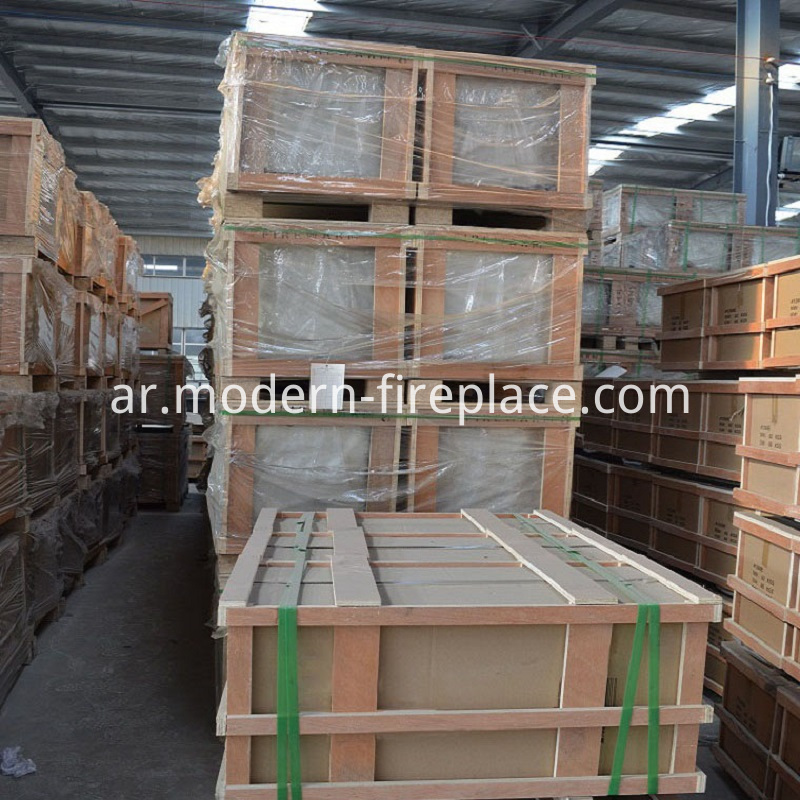 Wood Heater Production Sale Packaging