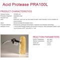 Proteasa ácida para fermentación alcohólica