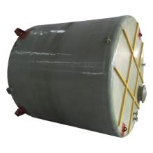 FRP GRP fibra de vidrio sulfúrico / clorhídrico / tanque de ácido nítrico / contenedor / cisterna